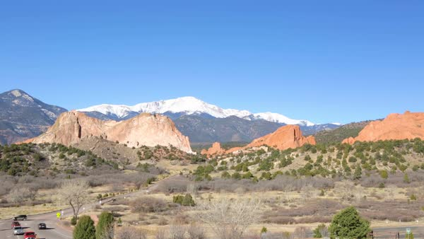 The Garden Of The Gods In Colorado In Winter D1092 117 022