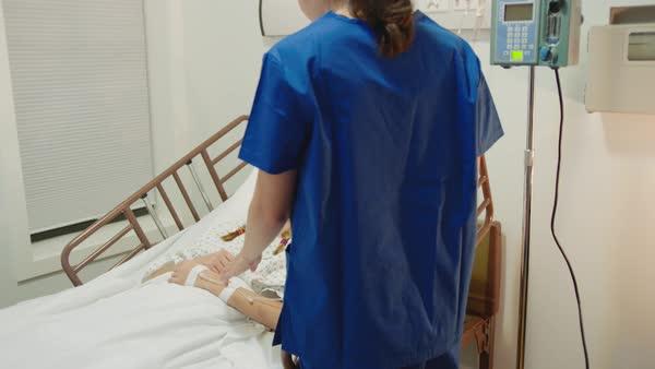 Simply Young teen girl nurse