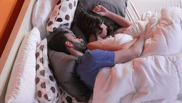 Image result for cute couple in bed