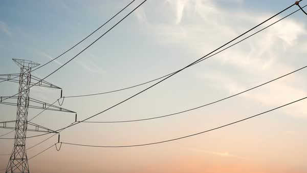 Superb Animation Of Electric Power Lines Stock Video Footage Dissolve Wiring 101 Capemaxxcnl