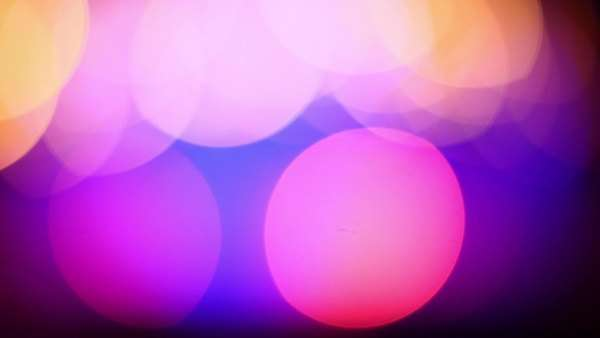 Abstract background with blinking bokeh Lights Royalty-free stock video