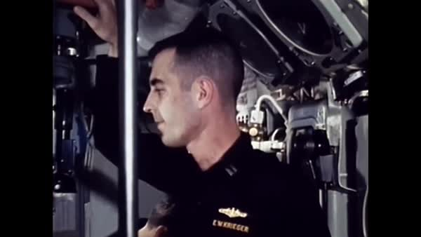 1967 - The crew of a United States Navy nuclear submarine are informed by  underwater telephone of the success of a torpedo attack while participating
