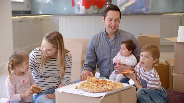 Image result for new home moving eating