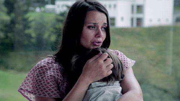 Image result for mother and son crying
