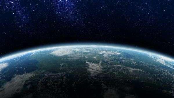 Horizon Of A Rotating Earth From Space Maps Courtesy NASA Visibleearthnasagov