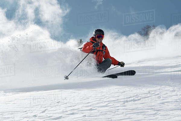 Ski Exhilarating Skier Print
