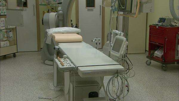 Operating table in theatre. Royalty-free stock video