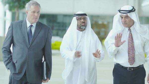 Middle eastern businessmen Royalty-free stock video