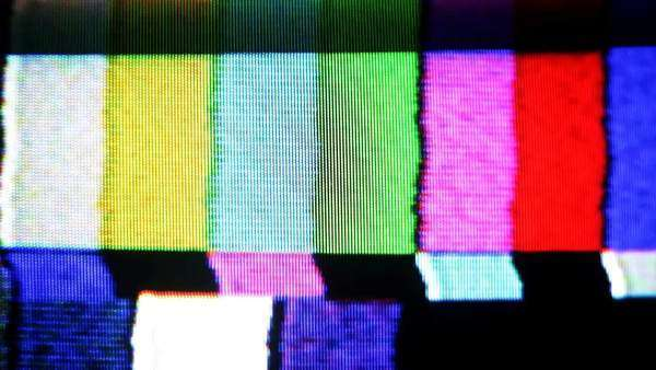 static and electronic noise captured from an old television Royalty-free stock video