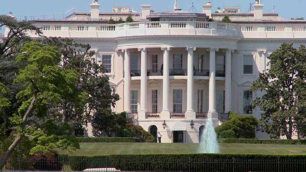 The White House in Washington D.C. Royalty-free stock video