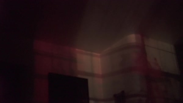 Medium shot of a shadows in a room Royalty-free stock video