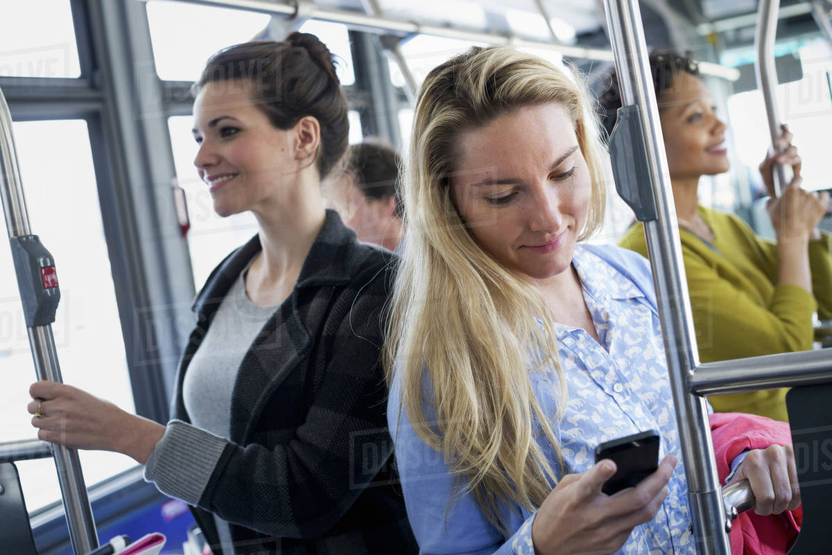 Touch Woman In Bus