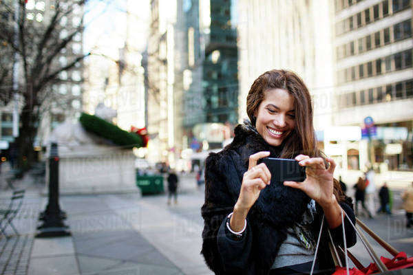 Young woman taking selfie Royalty-free stock photo