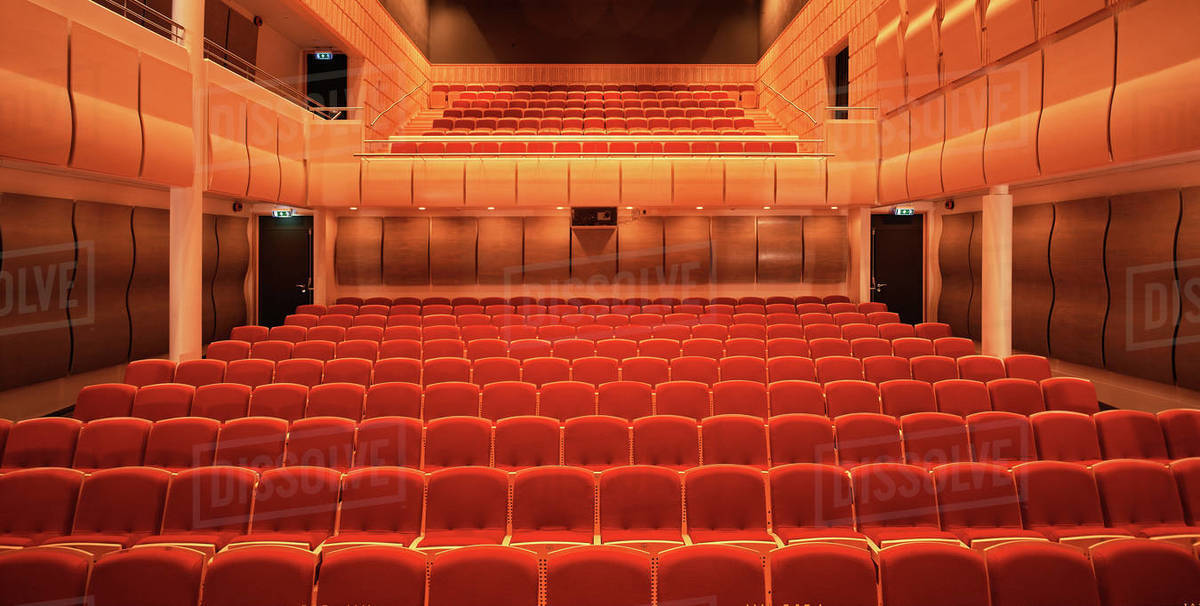 Image of empty concert hall Royalty-free stock photo