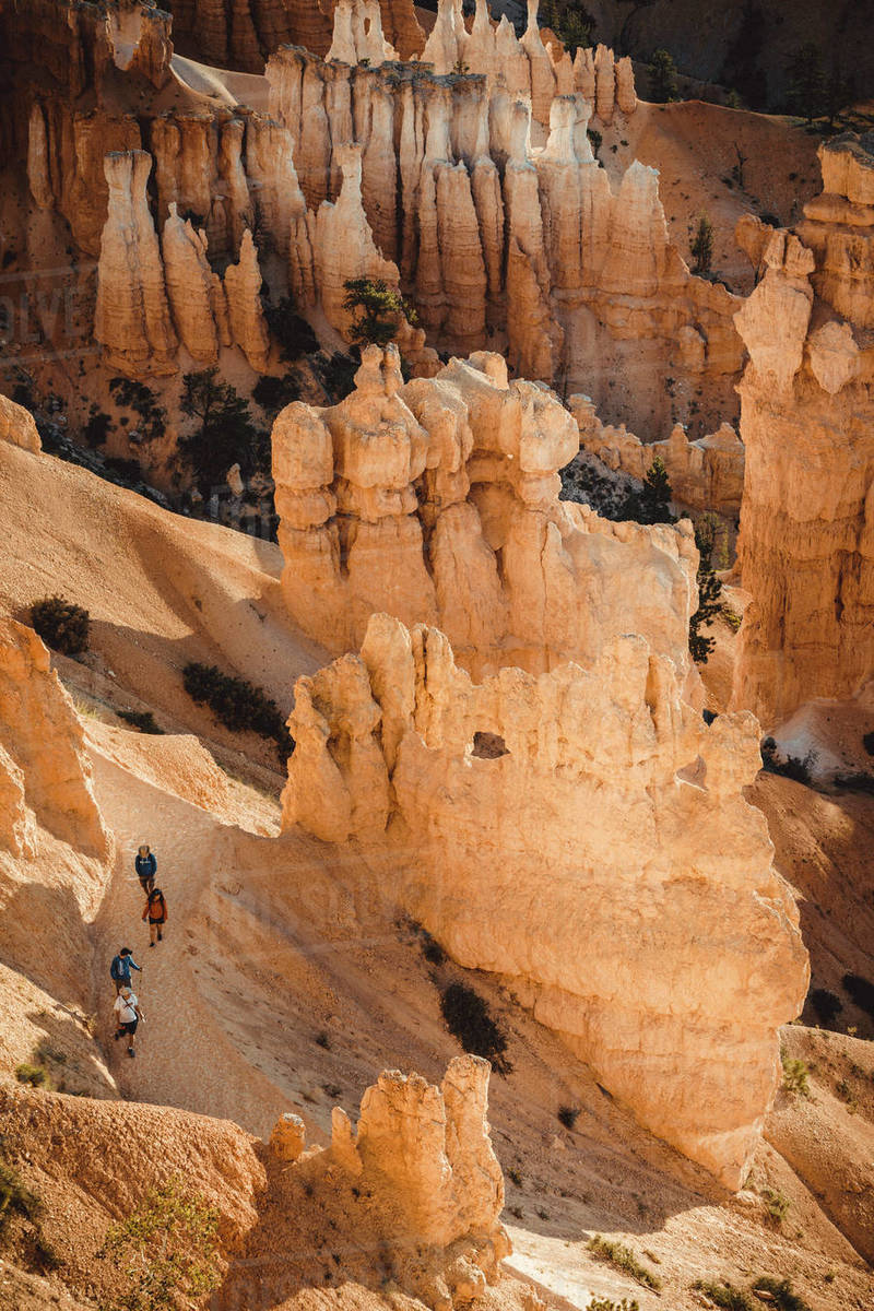 Fairyland Loop Trail in Bryce Canyon Royalty-free stock photo