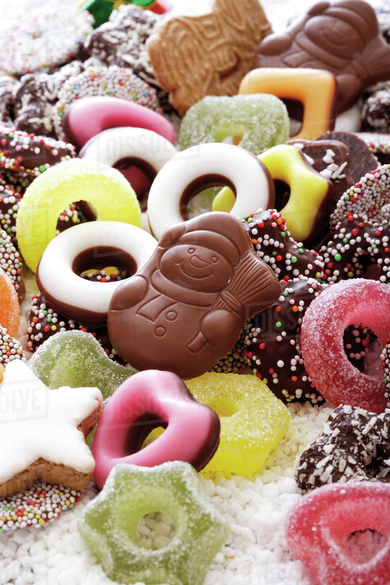 Christmas Sweets.Christmas Sweets Stock Photo