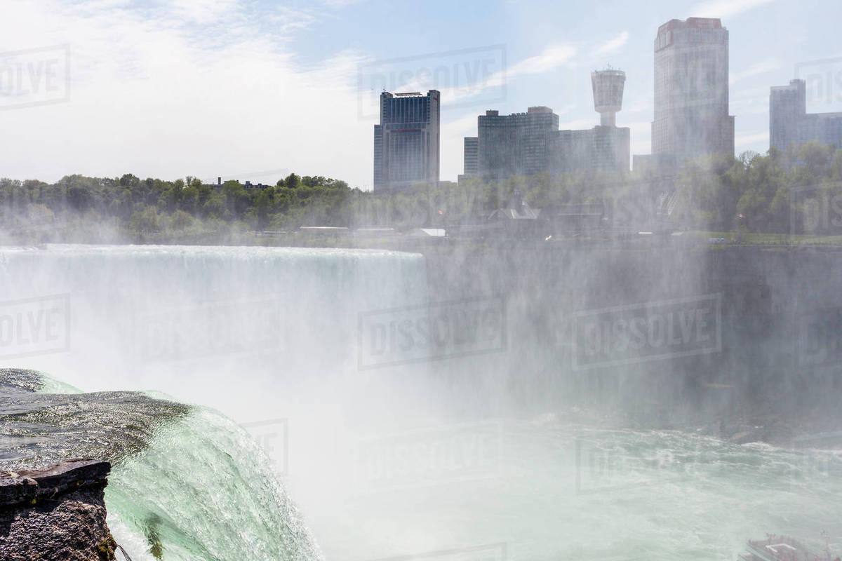Views Of Niagara Falls From The Niagara Falls New York D1129 10 306