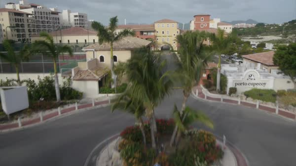 Aerial shot of St. Martin island Rights-managed stock video