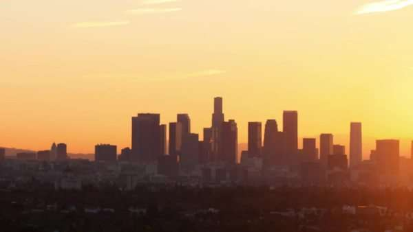 Los Angeles Rights-managed stock video