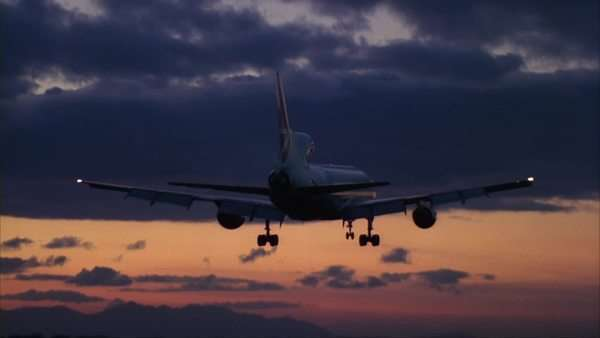 Commercial airplane Rights-managed stock video