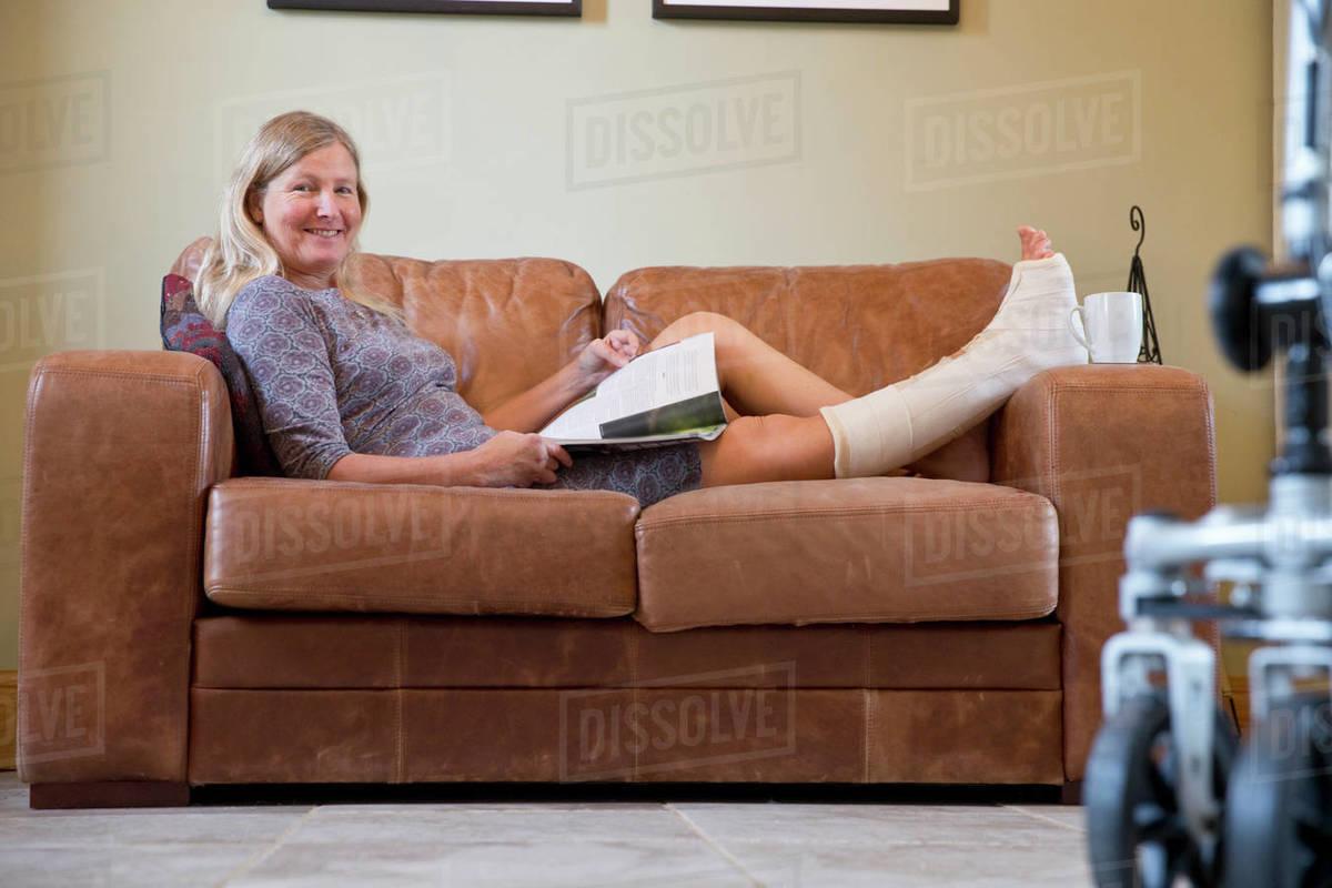 Mature leg pic