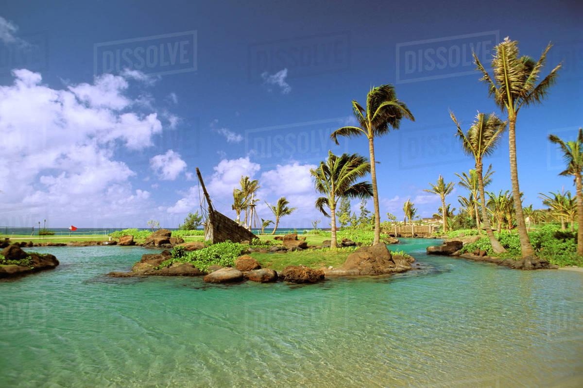 Hawaii Kauai South S Poipu Beach Hyatt Regency Swimming Pool