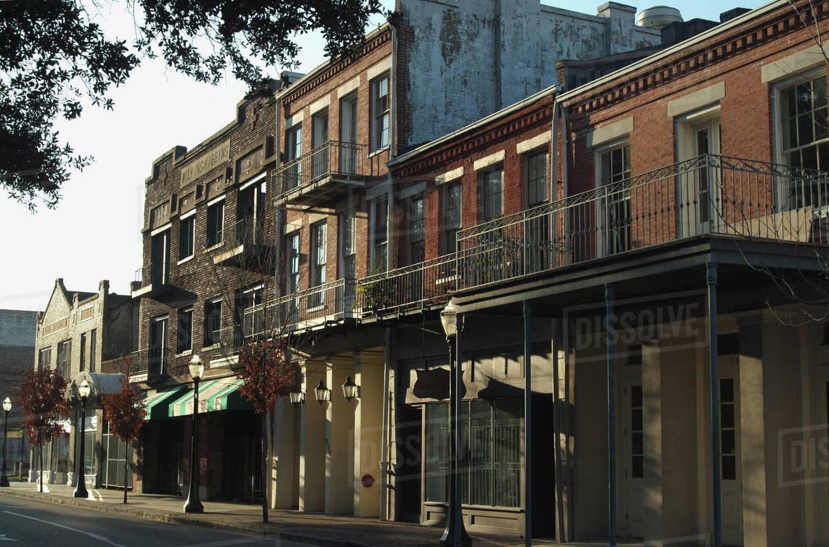 Downtown Mobile Alabama Stock Photo Dissolve