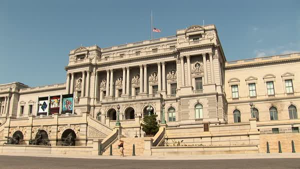 The Library of Congress Royalty-free stock video