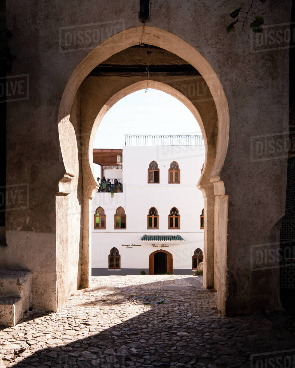 Tangier Archway Royalty-free stock photo
