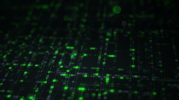 Digital Data Hex Code Symbols Abstract Information Technology