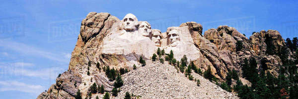 Mount Rushmore, South Dakota, United States Royalty-free stock photo