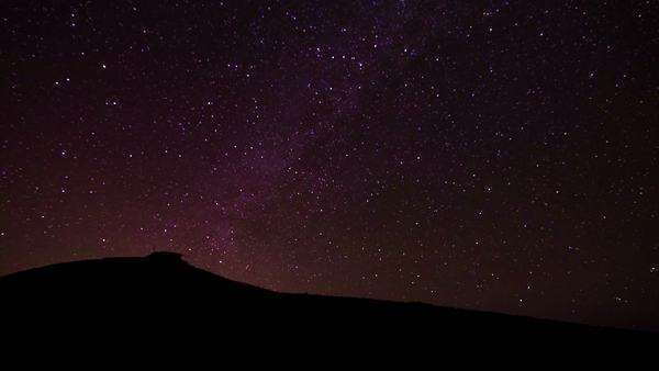Star Timelapse of Milky Way Galaxy Royalty-free stock video