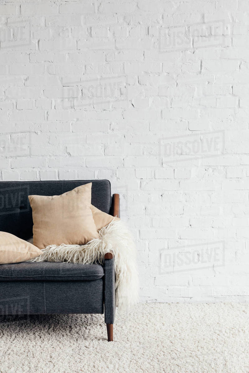 Remarkable Cropped Shot Of Couch With Pillows And Blanket In Living D2115 272 192 Andrewgaddart Wooden Chair Designs For Living Room Andrewgaddartcom