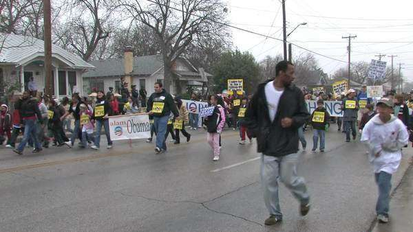 Largest Martin Luther King Mlk March In The Usa In San Antonio