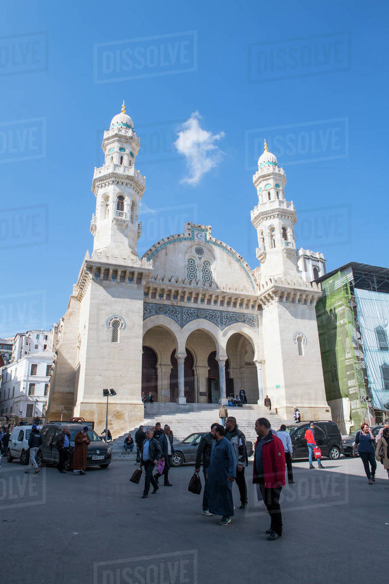 Ketchaoua Mosque, Algiers, Algeria, North Africa, Africa Royalty-free stock photo