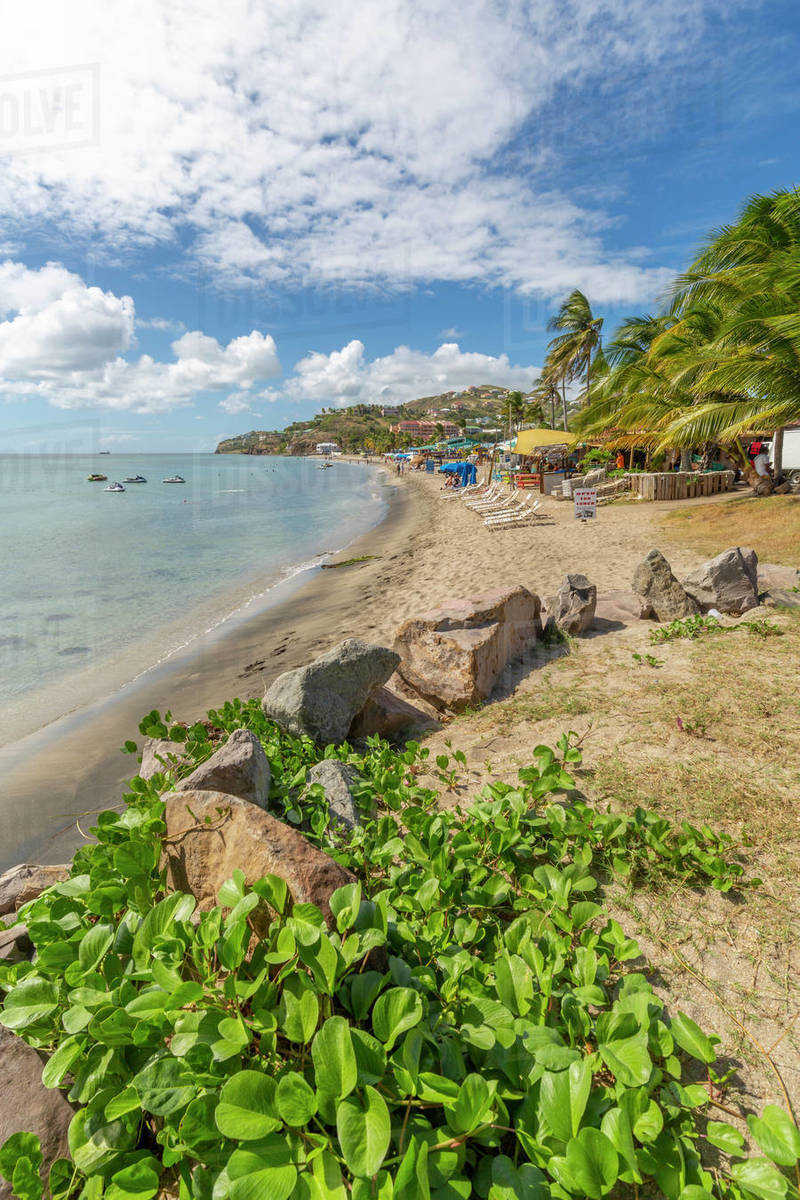 View Of Frigate Bay Beach Basseterre St Kitts And Nevis West