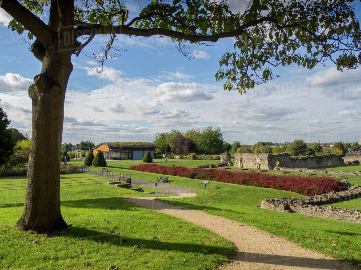 Lesnes Abbey, Abbey Woods, East London, London, England, United Kingdom, Europe Royalty-free stock photo