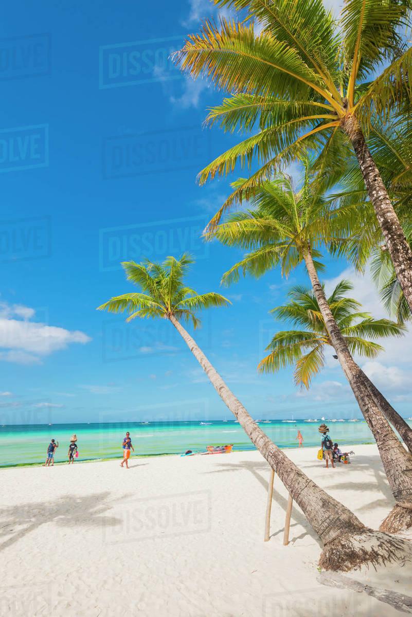 Dinwid Beach, Boracay, Western Visayas, Philippines, Southeast Asia, Asia Royalty-free stock photo