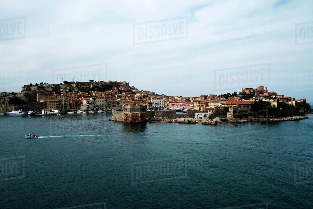 Portoferraio, Elba Island, Tuscany, Italy, Europe Royalty-free stock photo