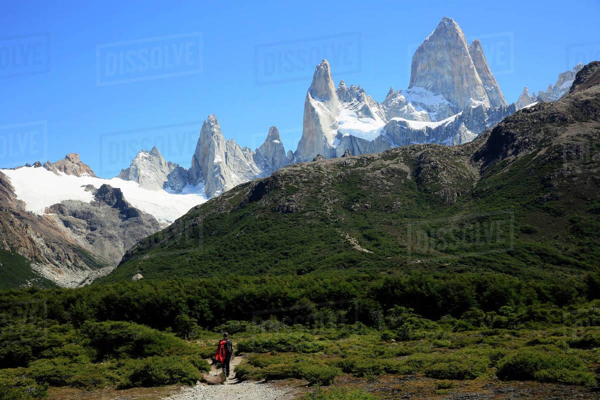 Patagonia South America >> Trekking Under Monte Fitz Roy El Chalten Argentine Patagonia