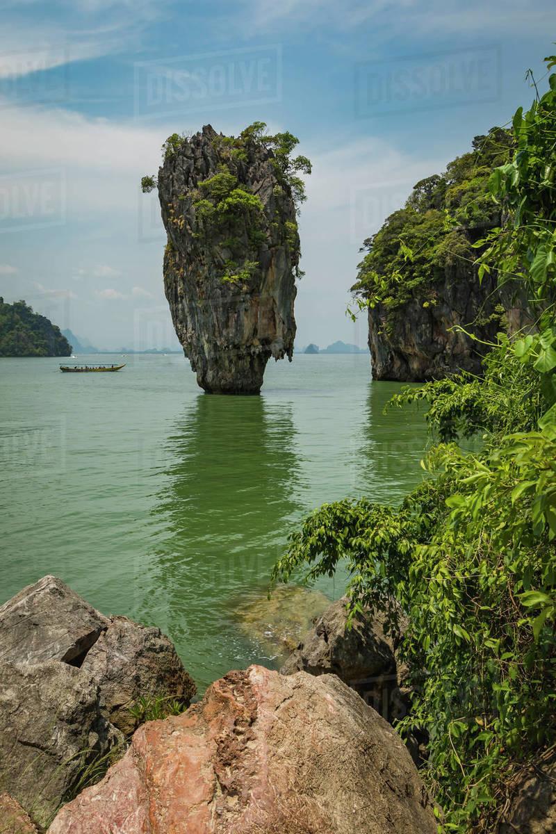 James Bond Island Phang Nga Bay Thailand Southeast Asia Asia D246 72 562