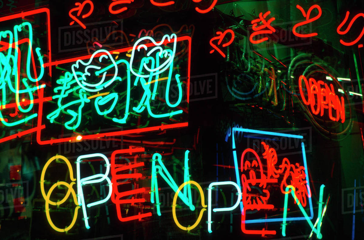 Neon Signs For Sale >> Japan Osaka Neon Signs For Sale In Dotombori District Market