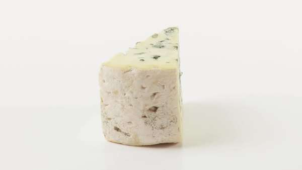 A piece of blue cheese Royalty-free stock video