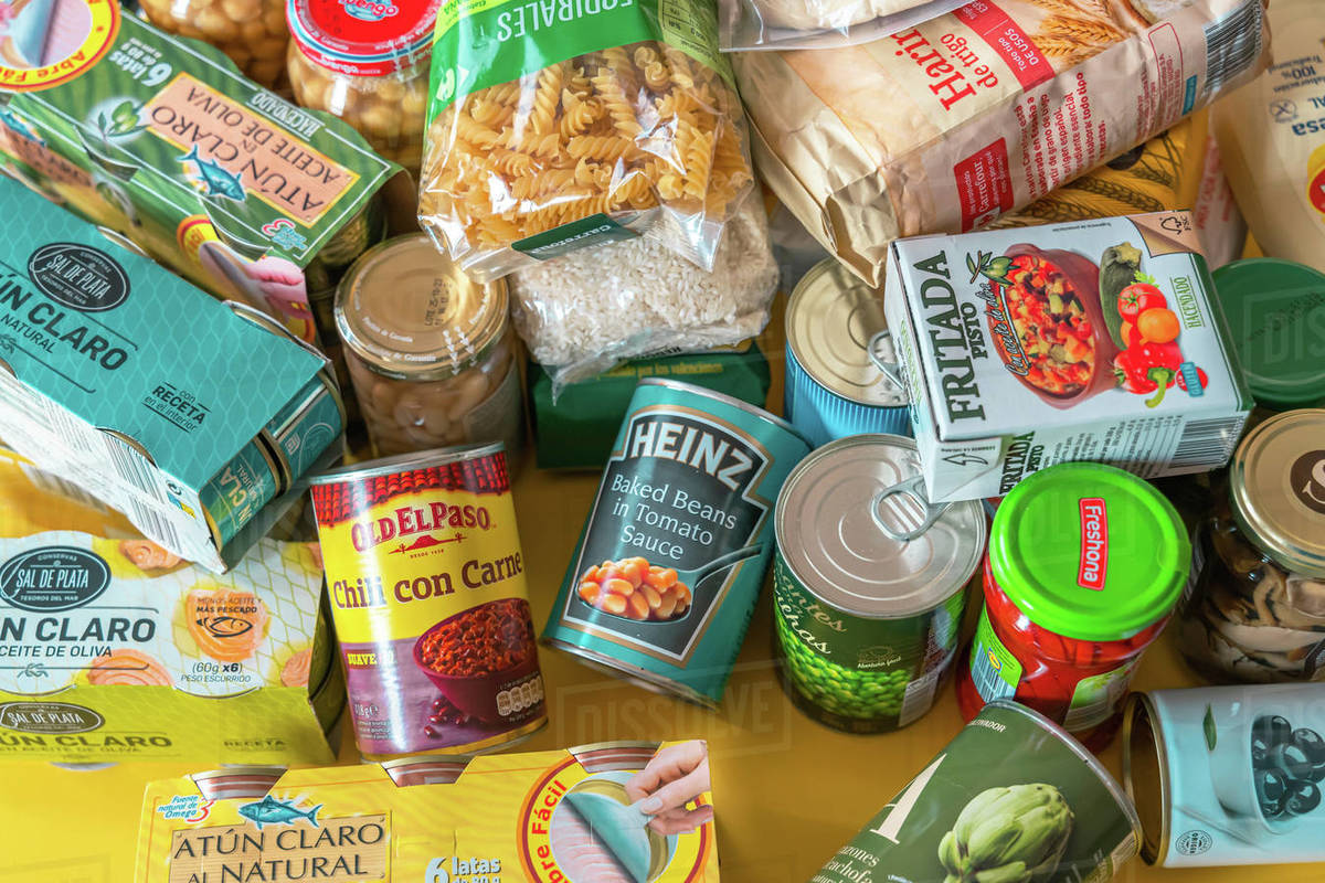 Home food pantry storage of provision to survive ...