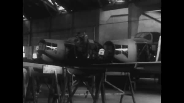 The resources of Brazil toward the war effort in World War Two. Royalty-free stock video