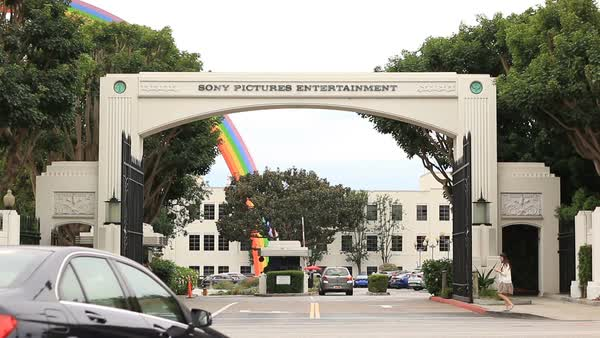 Sony Pictures Studios - Culver City, CA Royalty-free stock video