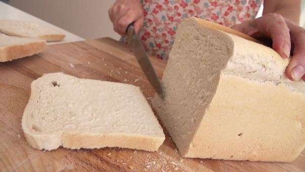 Edited sequence of various stages in making cheese on toast Royalty-free stock video