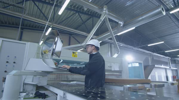 Coordinate measuring machine (cmm) measures a steed detail with high
