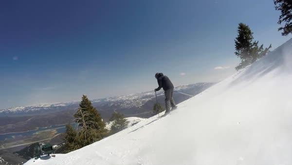 Scary Ski Trails