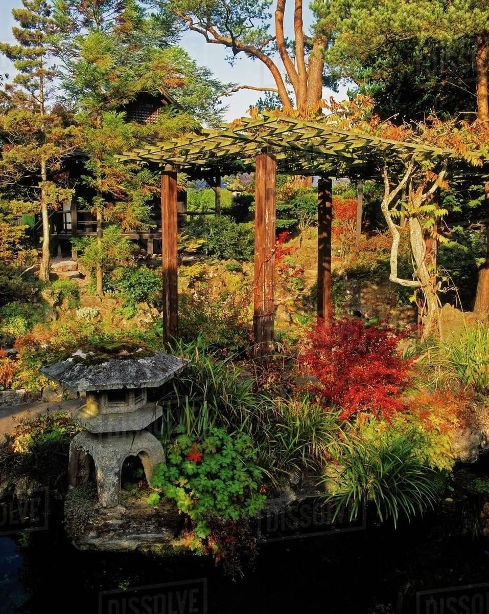 Tully Japanese Gardens, Co Kildare, Ireland; Japanese ...